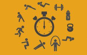 Circuit training regimen