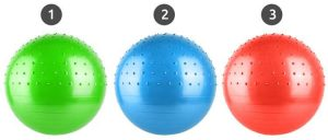 Fitball sizes