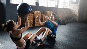 Circuit couple workout
