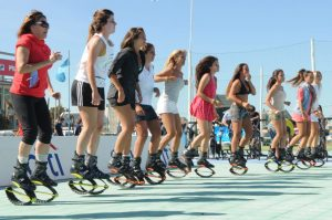 Kangoo jumps festival